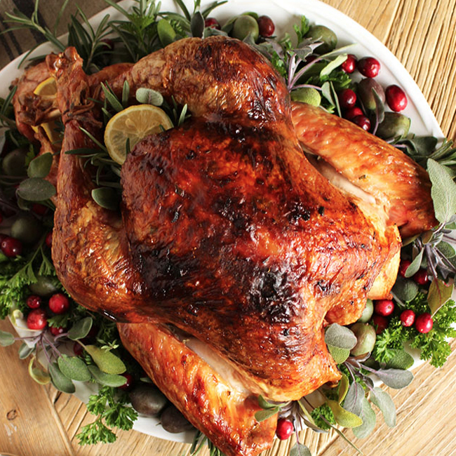 Citrus and Herb Turkey