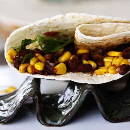 Black Bean Corn Taco