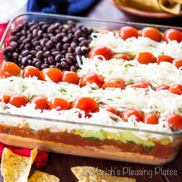 Seven Layer Flag Dip