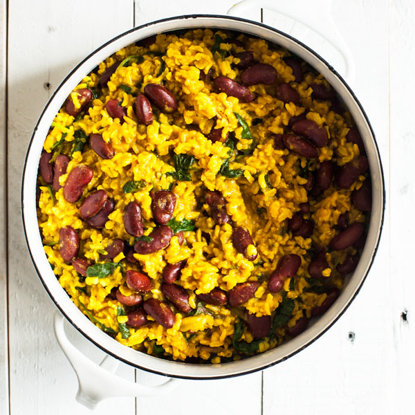 Green Valley Tumeric Rice and Beans