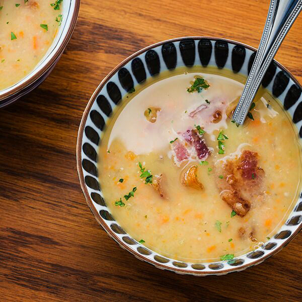 Northern Bean Soup with Bacon