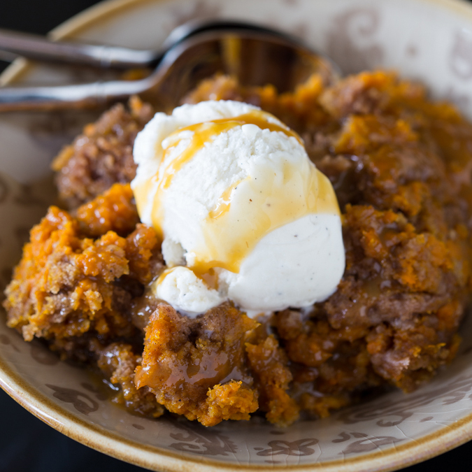 Slow-Cooked Pumpkin Cake