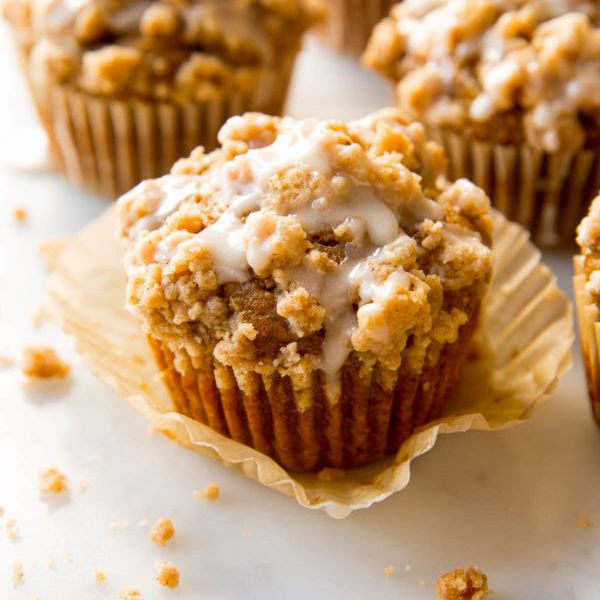 Pumpkin Crumb Cake Muffin