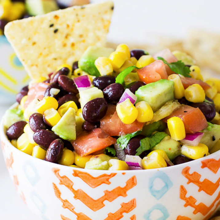Fiesta Corn & Black Bean Salsa