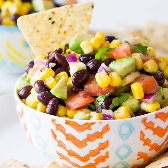 Corn & Avocado Salsa